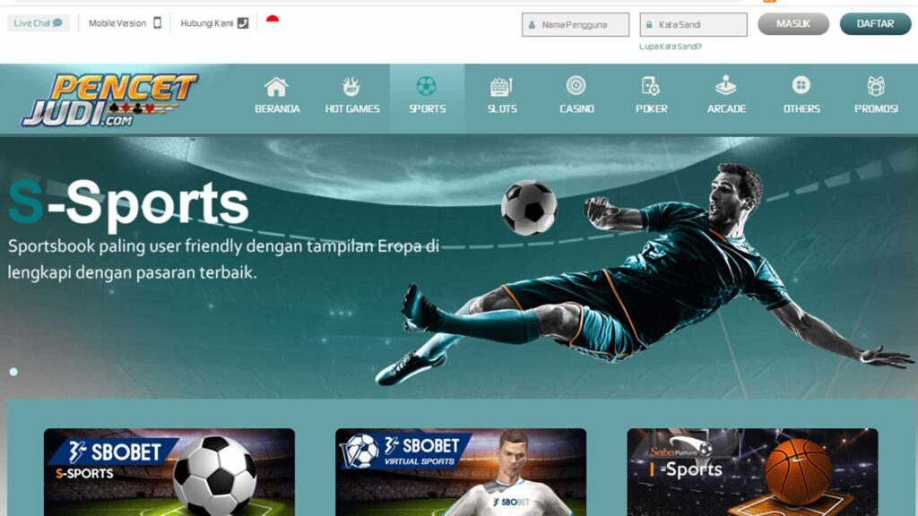 Online Gambling soccer in Indonesia